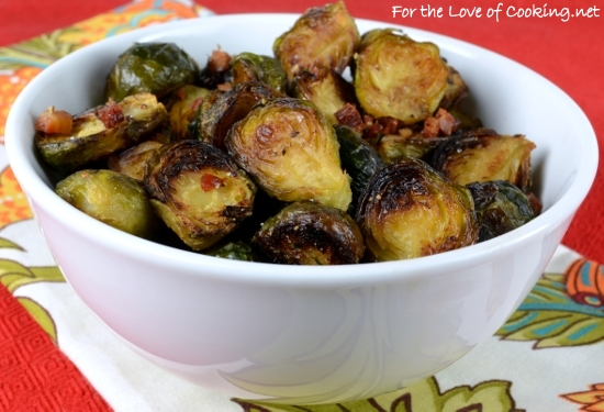Roasted Brussels Sprouts with Pancetta and Balsamic Vinegar | For the ...
