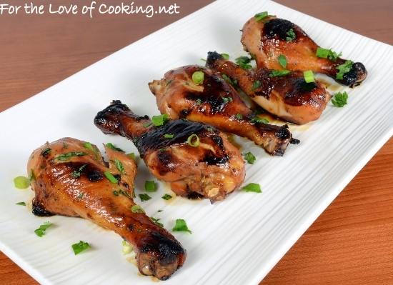 Honey-Soy Chicken Drumsticks