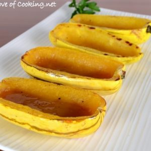 Delicata Squash with Brown Sugar and Butter and the Butterball Coupon Winners