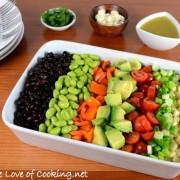 Mexican Chopped Salad with a Citrus Vinaigrette
