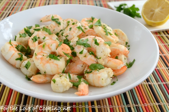 Lemon and Garlic Roasted Shrimp