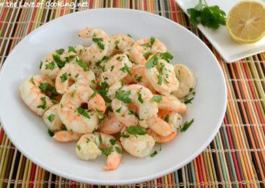 Lemon and Garlic Roasted Shrimp