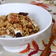 Pecan, Coconut, and Cherry Granola