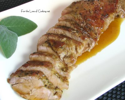 Pork Tenderloin with Maple Glaze