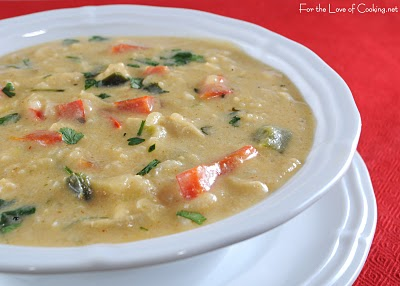 Roasted Tomato Soup With Poblanos, Oregano, And Cotija Cheese Aka Sopa ...