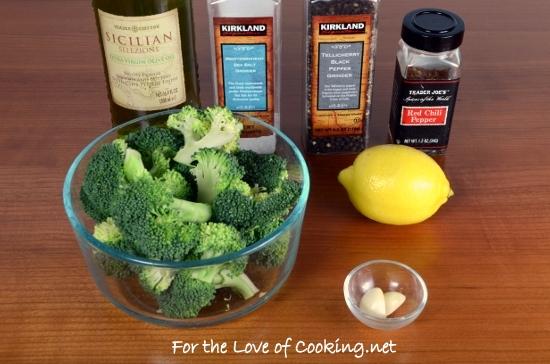 Lemon-Garlic Broccoli
