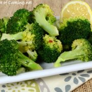 Lemony-Garlic Broccoli