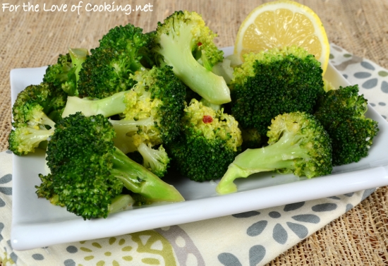 Lemon-Garlic Broccoli