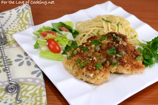 Chicken Thigh Piccata