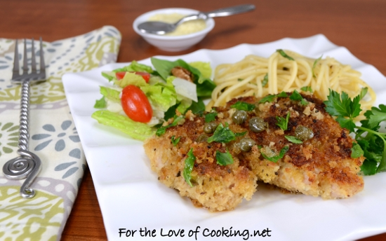 Chicken Thigh Piccata For The Love Of Cooking