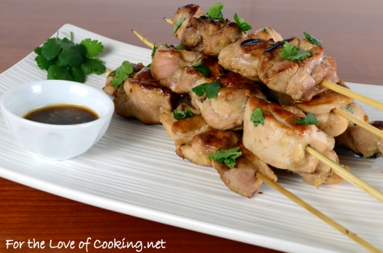 Honey, Lime, and Sriracha Chicken Skewers
