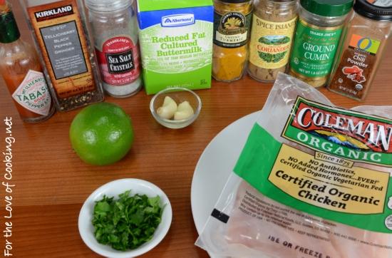 Buttermilk Southwestern Grilled Chicken