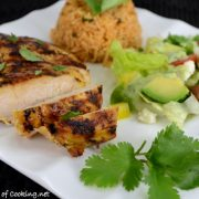 Buttermilk Southwestern Grilled Chicken