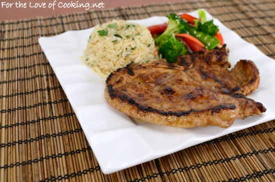 Ginger Sesame Thin Cut Pork Chops