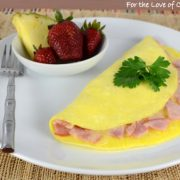 Ham and Extra Sharp White Cheddar Omelette