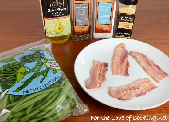 Green Bean Bacon Wrapped Bundles