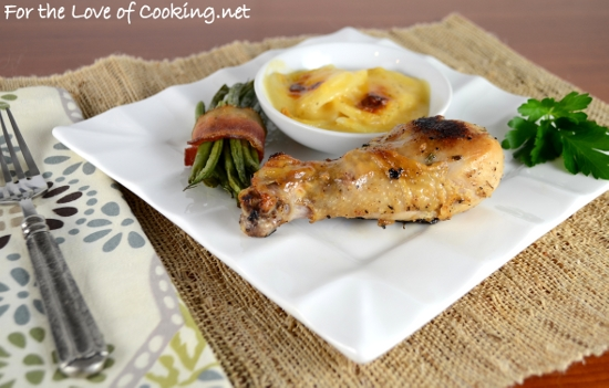 Buttermilk Marinated Roasted Chicken Drumsticks