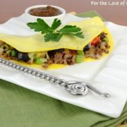 Mexican Thin Omelette