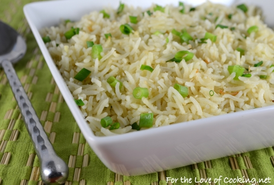 Sesame Garlic Basmati Rice