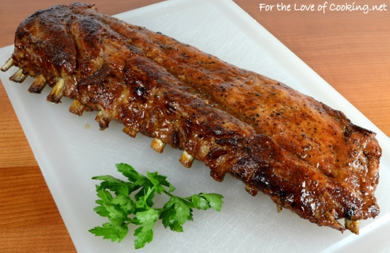 Asian Glazed Baby Back Ribs
