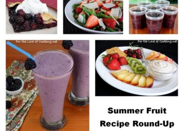Summer Fruit – Recipe Round-Up