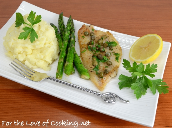 Sole Piccata | For the Love of Cooking