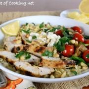 Mediterranean Chicken Rice Bowl