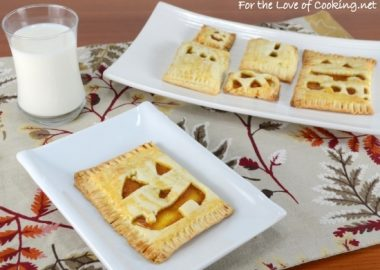 Pumpkin Butter Pop Tarts
