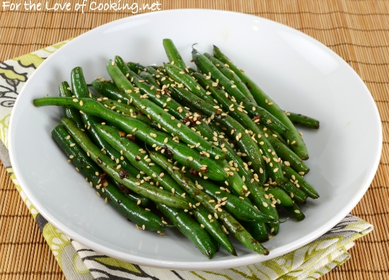 quick sesame green beans recipes dishmaps asian honey sesame green ...