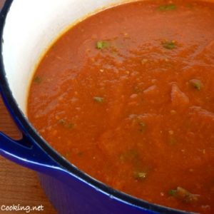 Roasted Tomato and Bell Pepper Marinara