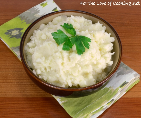 Buttermilk Mashed Potatoes | For the Love of Cooking