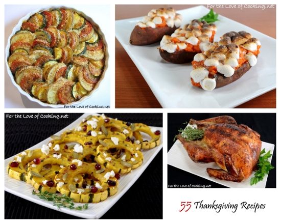 55 Thanksgiving Recipes Sure To Make Your Guests Thankful!