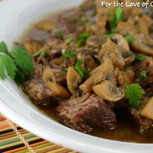 Pot Roast with Mushrooms