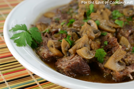 Pot Roast with Mushrooms