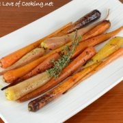 Roasted Carrots with Garlic and Thyme