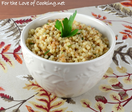 How to make israeli couscous salad