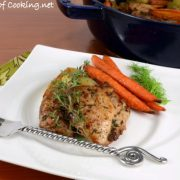 Mustard-Roasted Chicken Thighs With Vegetables