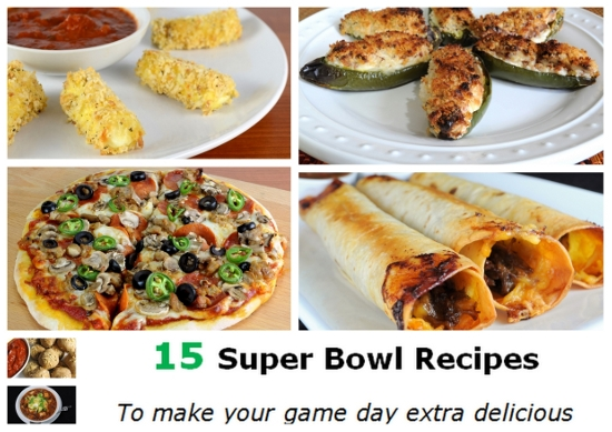 Parade's Community Kitchen ~ Super Bowl Recipe Round-Up: Here are some of my favorite game day dishes
