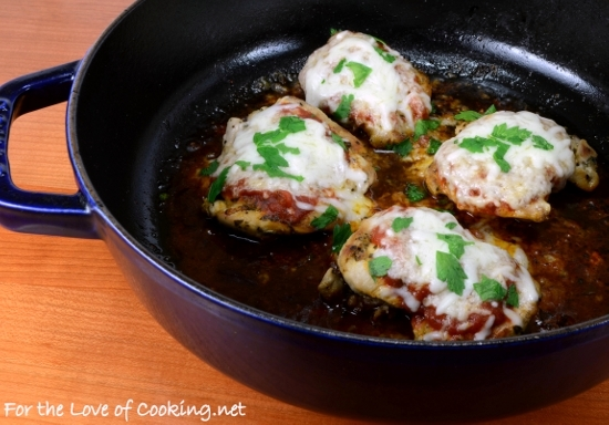 Herb Marinated Chicken Parmesan