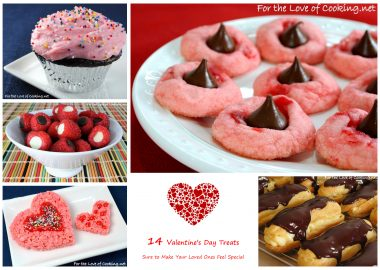 Parade's Community Kitchen ~ 14 Valentine's Day Treats Sure to Make Your Loved Ones Feel Special