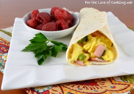 Breakfast Braid With Egg, Jalapeno Sausage, Roasted Red Pepper, And ...