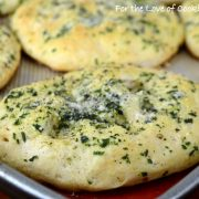Mini Garlic and Herb Focaccia