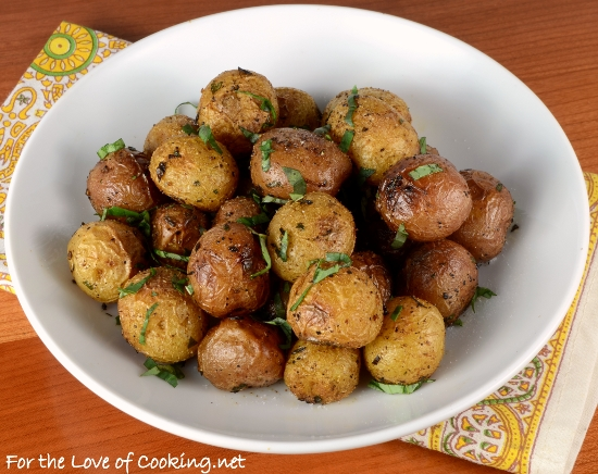 Healthy Oven Roasted Potatoes Recipe