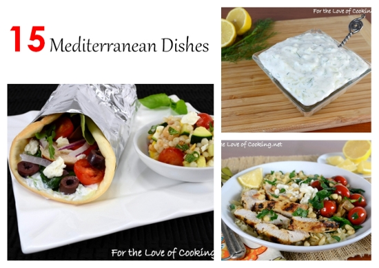 Parade's Community Table ~ 15 Healthy and Delicious Mediterranean Dishes