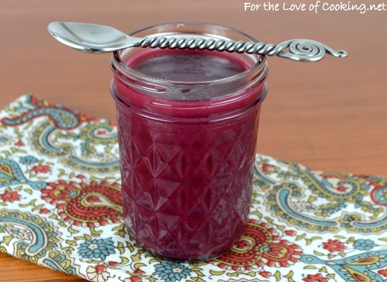 Blackberry Lemon Curd
