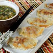 Pork and Shiitake Potstickers