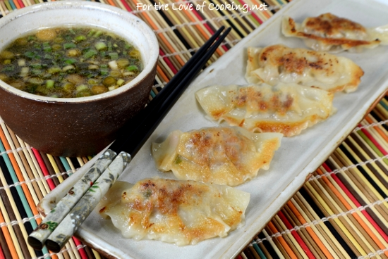 Pork and Shiitake Pot Stickers