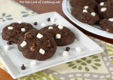 Mini Rocky Road Cookies
