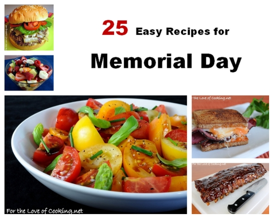 Parade's Community Table ~ 25 Easy Recipes To Kick Your Memorial Day Weekend Up a Notch!