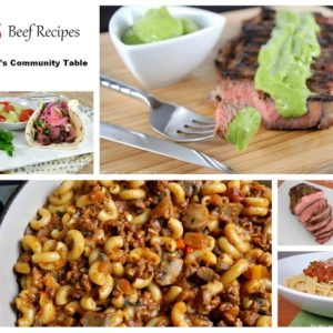 Parade's Community Table ~ 25 Family-Approved Beef Recipes
